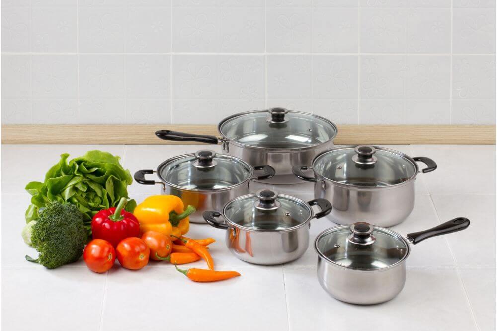 KitchenAid 10-Piece Cookware Set