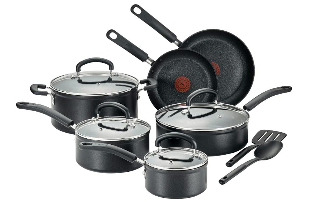 T-fal C561SC Nonstick 12-Piece Cookware Set