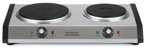 Waring double burner